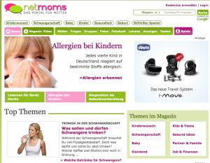 online-redaktion bei netmoms.de während des praxissemesters zum online-redakteur im 5. semester